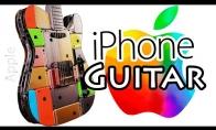 Gitara iš 107 iPhone telefonų