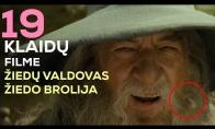 Kinofeilai: 19 klaidų filme ŽIEDŲ VALDOVAS. ŽIEDO BROLIJA