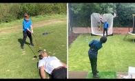 6-metis, puikiai įvaldęs golfo lazdą