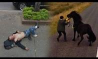 Juokingos Google Street View užfiksuotos akimirkos
