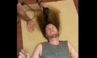Pati š*diniausia šukuosena