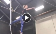 Pora, mylinti gimnastiką