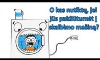 O kas nutiktų, jei jūs pakliūtumėt į skalbimo mašiną?