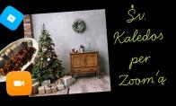Kalėdos per Zoom'ą